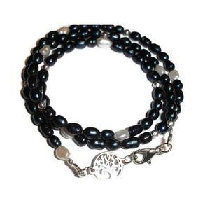 Petite Pearl triple wrap bracelet